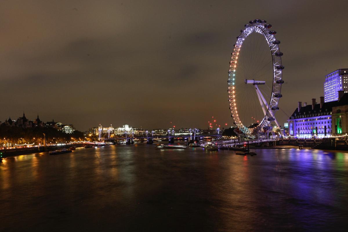 London, Travel, London Eye, Themse, by night, Reisebericht, Reiseblogger, Fashionblogger, Hannover