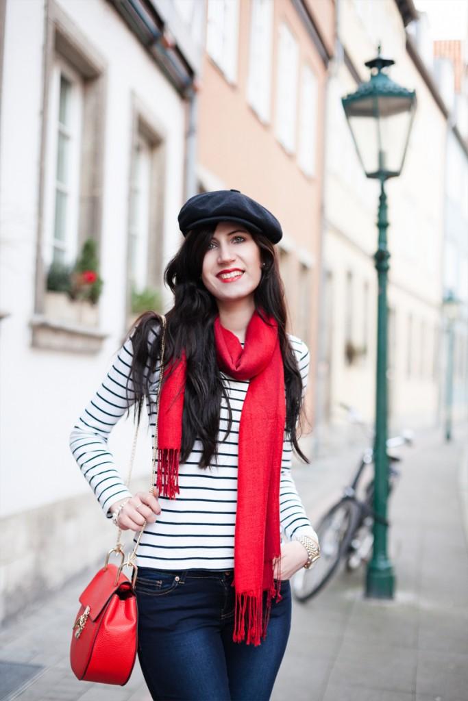 Bild Outfit, Valentine, Fashionblogger, Parisian Chic, France Style, Pariser Chic