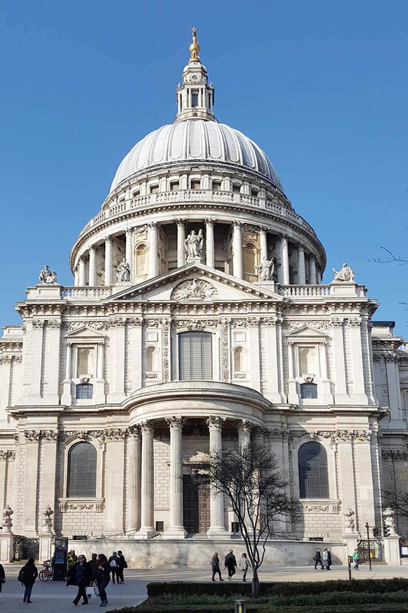 Bild London, St. Pauls Cathedral ,Kirche, Wanderlust, Travel, Reisen, Fashionblog, Blog, United Kingdom, Sehenswürdigkeiten, Sandes of Ivory